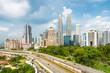Kuala Lumpur skyline - Malaysia.