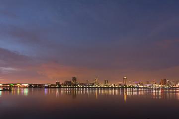 Long Beach City Lights