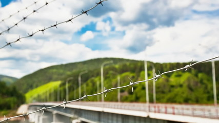 Bridge of Barbed Wire