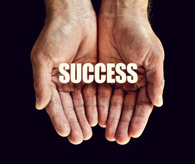 success hands