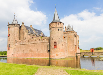 Muiderslot, medieval castle in Muiden, The Netherlands