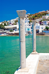 Panoramic view on Mykonos island, Greece