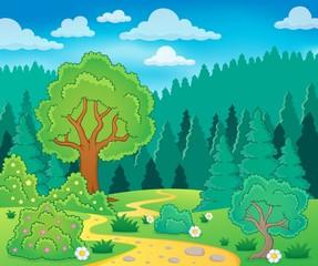 Spring theme landscape 9