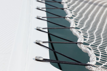 Yacht Safety Net Close Up
