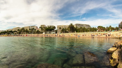 Beach Time Lapse Cannes