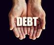 debt hands