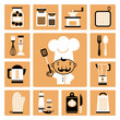 Kitchen  equipment.