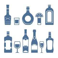Drink icons.
