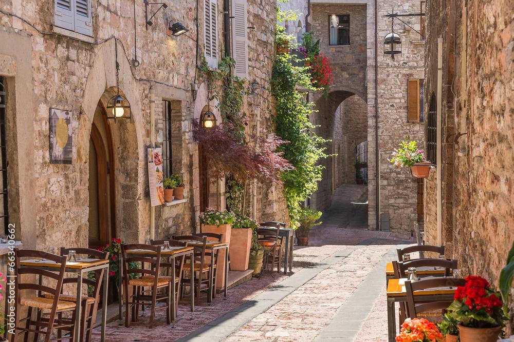 Włoska restauracja - powiększenie