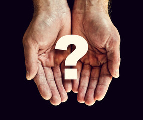 question hands