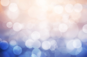 An image of pink and blue bokeh background