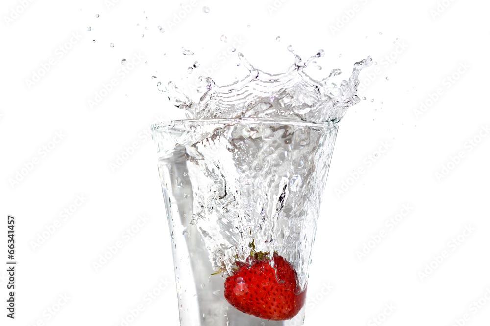 świeży szkło woda - powiększenie