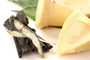 筍の煮物の食材 和食の食材