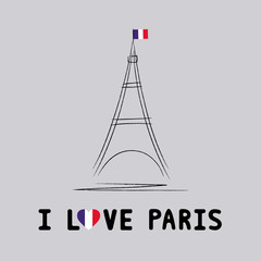 I love Paris card4
