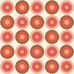 floral pattern - Illustration seamless texture