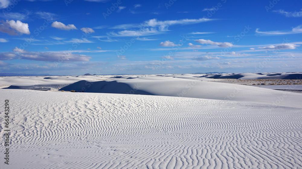 nowy meksyk pustynia biały - powiększenie