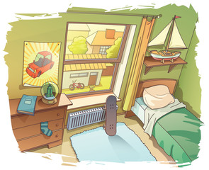 Young Boy's Room