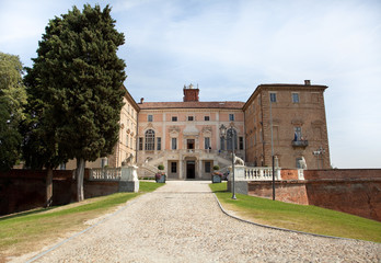 Royal Castle of Govone (Cuneo, Piedmont, Italy)