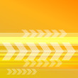 abstract yellow orange background with transparent arrows