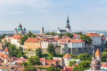 Panoramic View of Tallinn