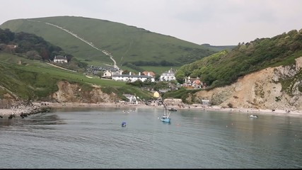 Harbour at Lulworth Cove Dorest