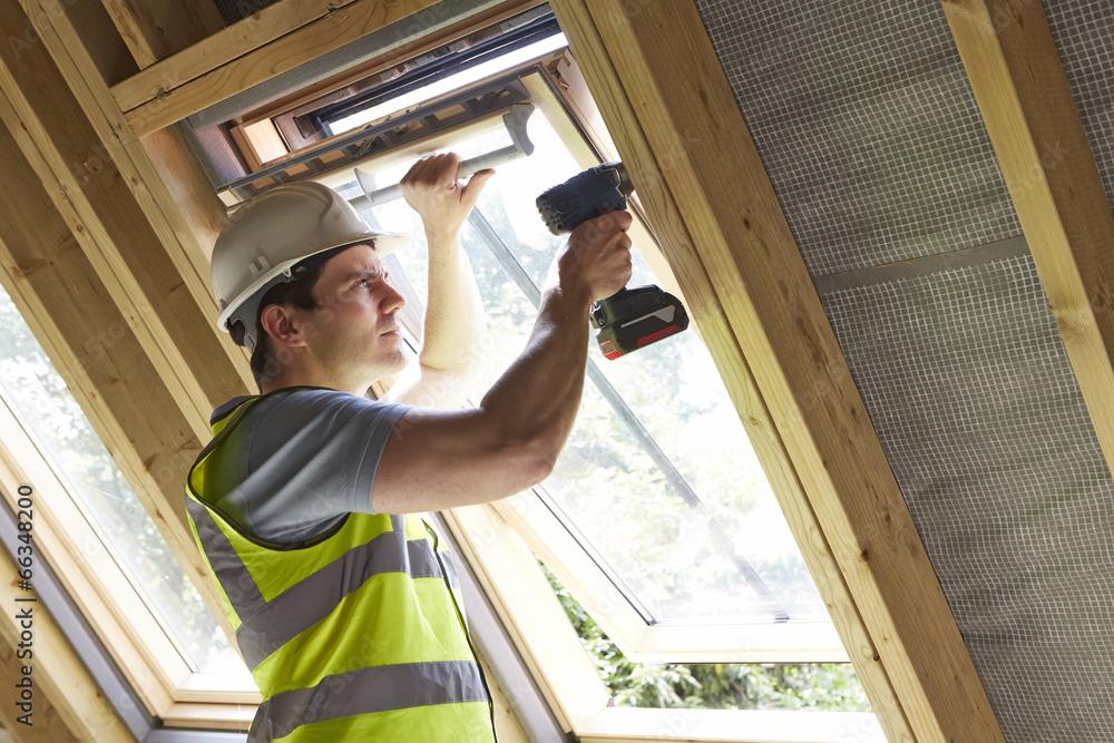 zawód budowlanych wiertło - powiększenie