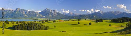 Panorama Landschaft in Bayern - 66348236