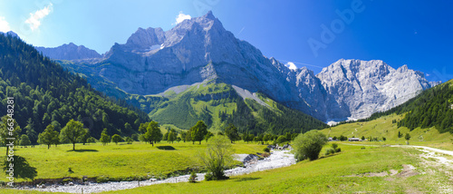 Panorama Landschaft in Bayern © Wolfilser