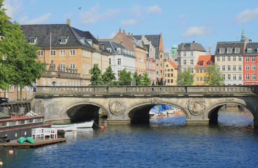 Marble bridge. Copenhagen, Denmark