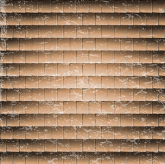 abstract brick wall background.illustration tile