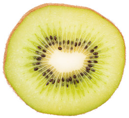 slice of fresh juicy kiwi
