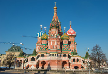 St Basil's Cathedral, Moscow, Russia,Red Square.