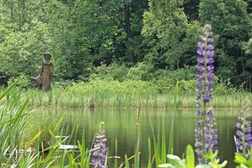 Der Frau-Holle-Teich am Meissner