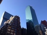 Architecture in Manhattan New York City poster