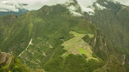 Machu Picchu Zeitraffer