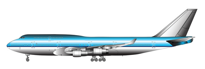 LARGE PASSENGER JETLINER