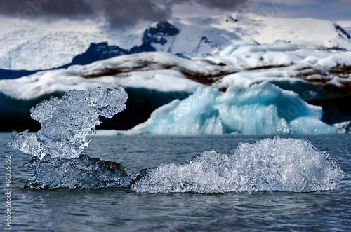 Leinwandbild Motiv Kleiner Eisberg