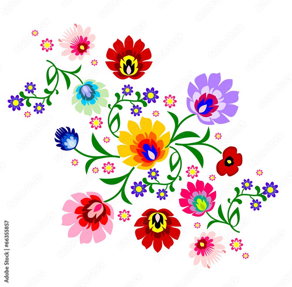 polerować prl kwiatowy - powiększenie