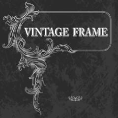Vintage Frame. Vector Illustration