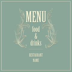 Restaurant Menu Design. Vector Illustration