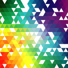 Triangles vector abstract background