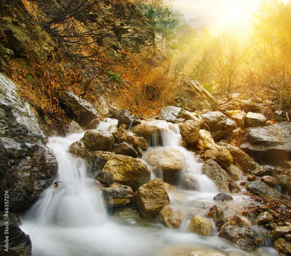 góra las woda - powiększenie