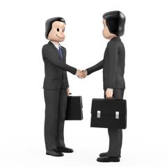 Geschäftsleute Handschlag