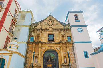 Panama city old catholic church La Iglesia de la Merced