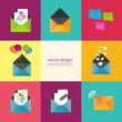 Set of information icons eps