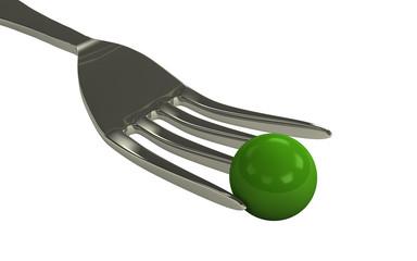 Konzept Grün