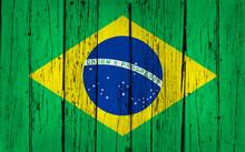 Brazylia Oznacz tło drewna