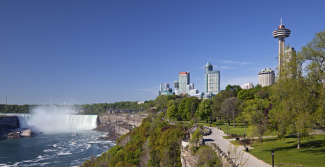 Niagara Falls and city, Ontario, Canada