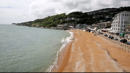Ventnor beach Isle of Wight south coast