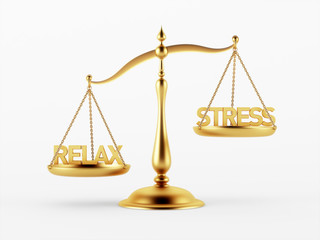 Relax and Stress Justice Scale Concept